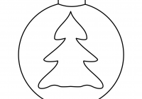 Xmas Ornaments Coloring Pages With Worksheets Christmas Save