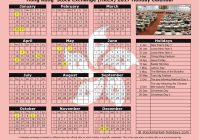Year 2019 Calendar Hong Kong With Yearly Printable