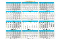 Year 2019 Calendar Ireland With Week Numbers Free Coloring Pages