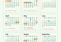Year 2019 Holidays Calendar With 6 Long Weekends In Singapore Bonus Cheatsheet