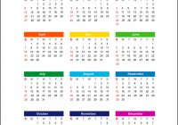 Year Calendar 2019 With Isolated On White Background Vector Image