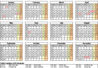 Yearly Calendar 13 Template with Australia Holidays Free | Public ..