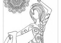 Yoga and meditation coloring book for adults: With Yoga Po – yoga and meditation coloring book for adults with yoga poses and mandalas