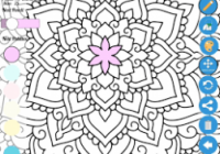Zen App Review: Coloring Book for Adults | Review This App – zen coloring book app